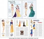 OPDAG - Paper Doll Studio issue 102 - The United States