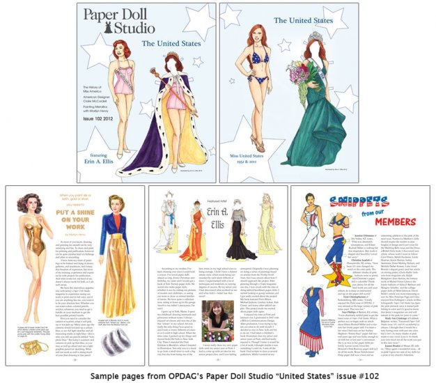 OPDAG - Paper Doll Studio issue 102 - The United States - Click Image to Close