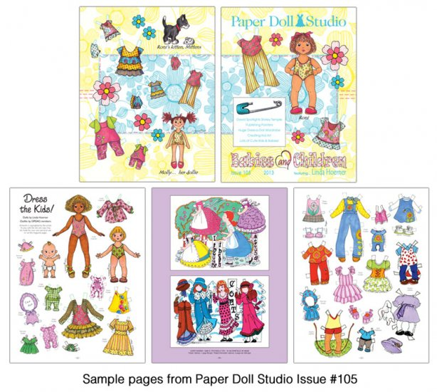 OPDAG - Paper Doll Studio Magazine issue 105 - Click Image to Close