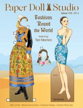 OPDAG - Paper Doll Studio Issue 110 - Fashions Round the World