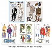 OPDAG - Paper Doll Studio Issue 115 - Menswear