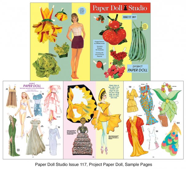 OPDAG - Paper Doll Studio Magazine Issue 117 - Click Image to Close