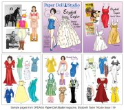OPDAG - Paper Doll Studio Issue 119 - Liz Taylor