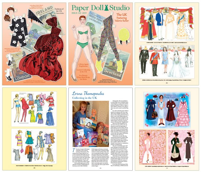OPDAG - Paper Doll Studio Issue 122 - The UK - Click Image to Close