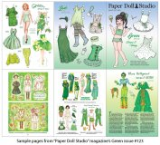 OPDAG - Paper Doll Studio Magazine Issue 123