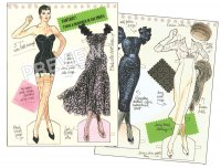 1950s Fashion Designer by Jim Howard