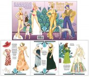 '70s Retro Deco Paper Dolls