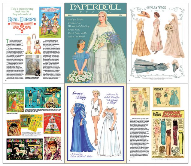 Paperdoll Review Magazine Issue 75 - Click Image to Close