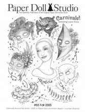 OPDAG - Paper Doll Studio issue 83 - Carnivale!