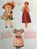 5 Antique Advertising Dolls - ONE ONLY