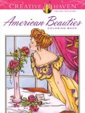 American Beauties Coloring Book
