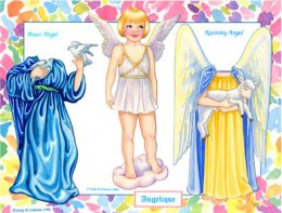 Angelique, Angel Paper Doll