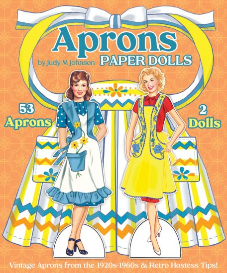 Aprons Paper Doll by Judy M Johnson