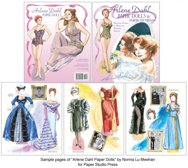 Arlene Dahl Paper Dolls - Click Image to Close