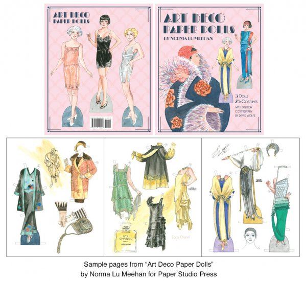 Art Deco Paper Dolls - Click Image to Close