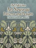 Art Nouveau Patterns and Designs
