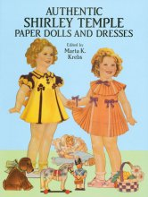 Authentic Shirley Temple Paper Dolls