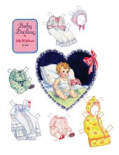 Baby Darling Paper Doll