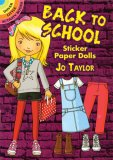 Back to School Sticker Paper Dolls
