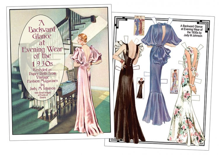A Backward Glance at Evening Wear - Click Image to Close