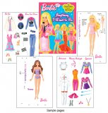 Barbie I Can be Anything I want to Be Paper Dolls