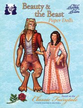 Beauty & the Beast Paper dolls by the Spindle Sisters