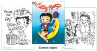 Betty Boop Coloring Book