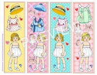 Judy and Dolly Bookmarks