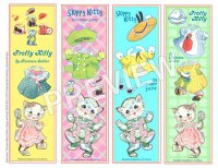 Pretty Kitties Bookmarks