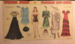 Brenda Starr Fashion Cut-Outs Game/Dance 1941 - ONE ONLY