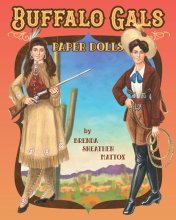 Buffalo Gals Paper Dolls by Brenda Mattox