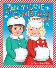 Candy Cane Christmas Paper Dolls
