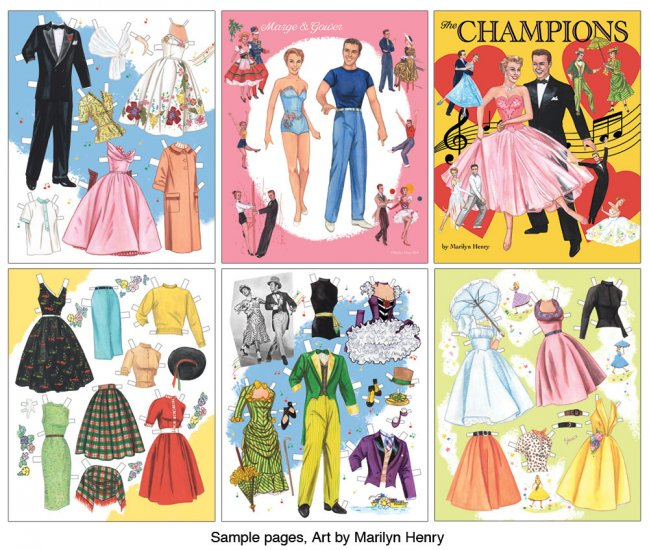 The Champions Paper Doll Book by Marilyn Henry preview