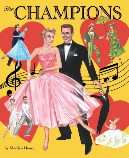 The Champions Paper Doll Book by Marilyn Henry
