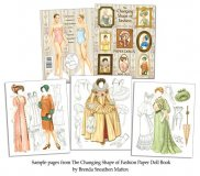 Changing Shape of Fashion Paper Dolls