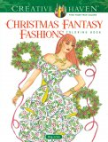 Christmas Fantasy Fashions Coloring Book