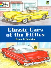 Classic Cars of the Fifties Coloring Book