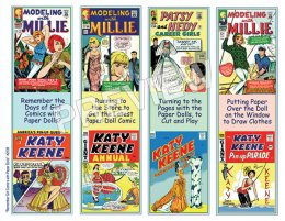 Vintage Comics Bookmarks