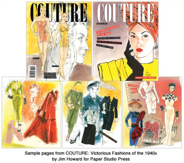 COUTURE: Victorious Fashions of the 1940s - Click Image to Close