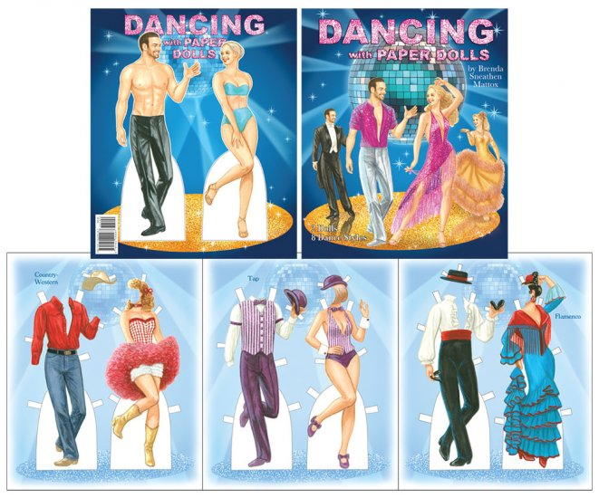 Dancing With Paper Dolls - Click Image to Close