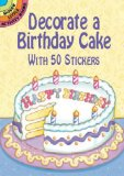 Decorate a Birthday Cake Sticker Activity Book
