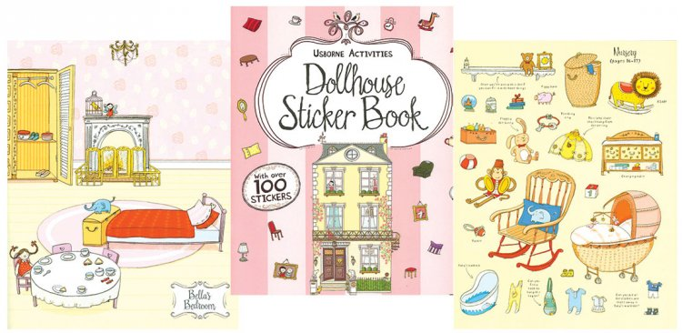 Dollhouse Sticker Book - Click Image to Close