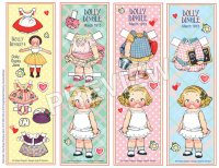 Dolly Dingle Bookmarks