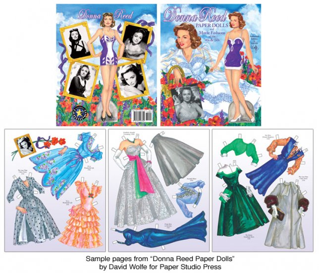 Donna Reed Paper Dolls - Click Image to Close
