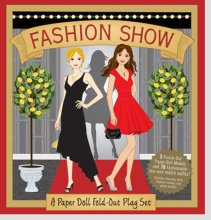 Fashion Show Paper Doll and Playset