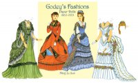 Godey's Fashions Paper Doll