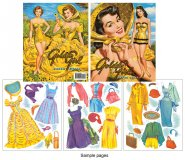 Golden Girl Paper Dolls