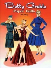 Betty Grable Paper Dolls by Tom Tierney