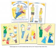 Fun with Grandma Paper Dolls