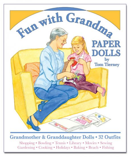 Fun with Grandma Paper Dolls - Click Image to Close